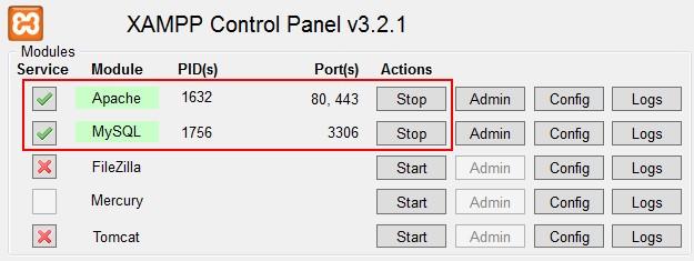 Xampp-Control-State