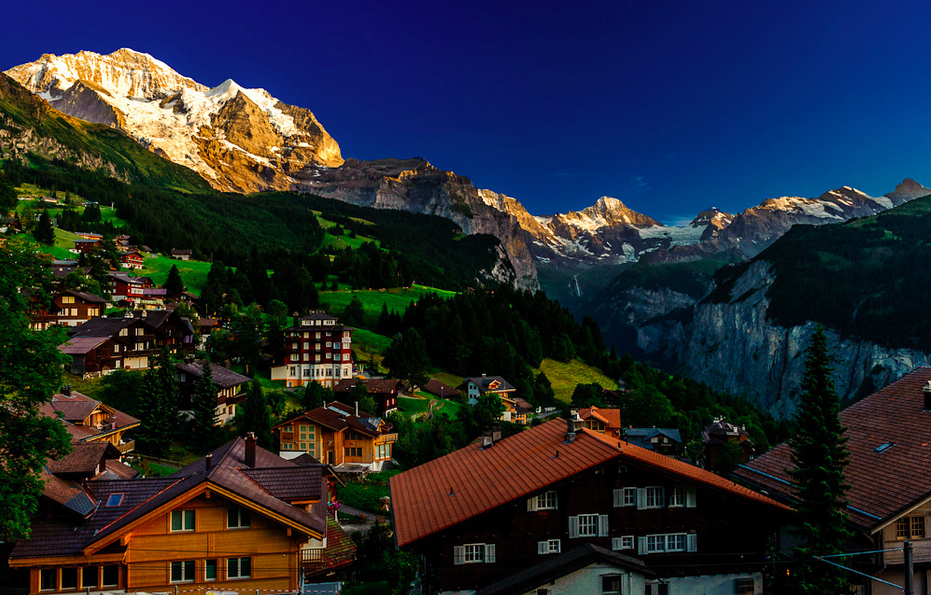 Wengen-Switzerland